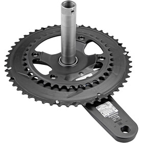 Stages Cycling Power R Powermeter Crank Arm with 52/36 Teeth Chainring for Ultegra R8000 black